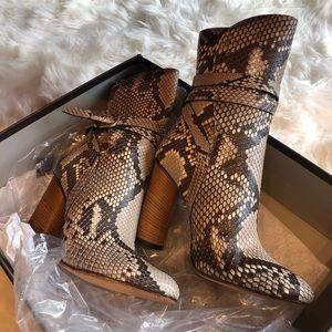 Gucci Python Booties